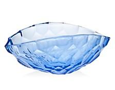 "Godinger Ceska Cladeidge Blue 16"" Bowl"