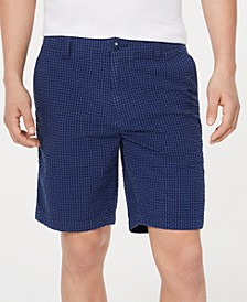 "Men's Jerry Gingham 9"" Shorts, Created for Macy's"