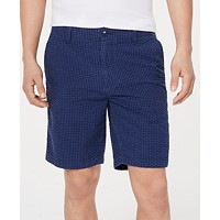 Deals on Tommy Hilfiger Mens Jerry Gingham 9-inch Shorts