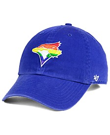 Toronto Blue Jays Pride CLEAN UP Strapback Cap
