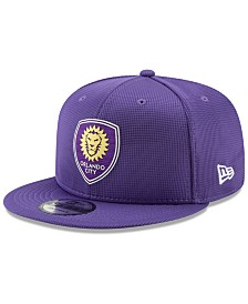 New Era Orlando City SC On Field 9FIFTY Snapback Cap