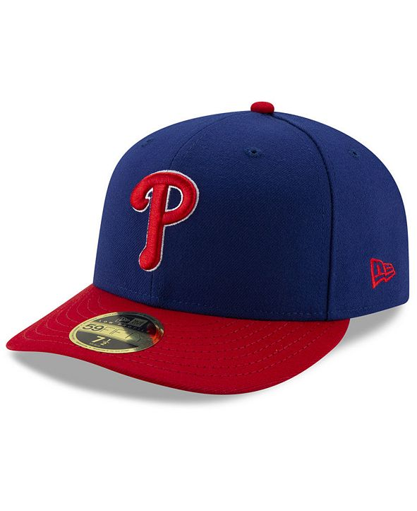 New Era Philadelphia Phillies Low Profile AC Performance 59FIFTY Fitted Cap