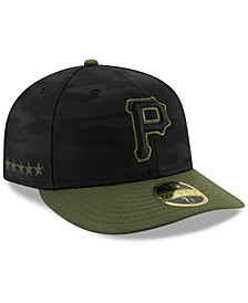 Pittsburgh Pirates Low Profile AC Performance 59FIFTY Fitted Cap