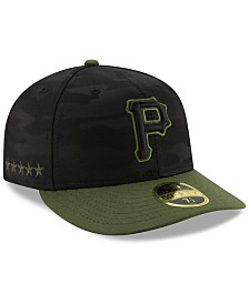 New Era Pittsburgh Pirates Low Profile AC Performance 59FIFTY Fitted Cap