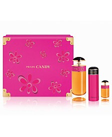 Prada Candy Eau de Parfum 3-Pc Gift Set