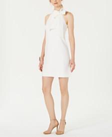 Vince Camuto Petite Bow-Tie A-Line Dress