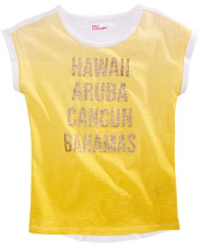 Epic Threads Big Girls Sunny Vibez Top, Created For Macy's