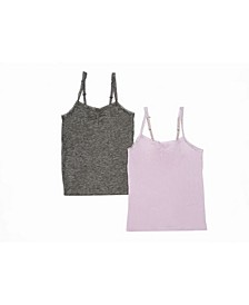 Tahari Girl 2-Pack Convertible Cami