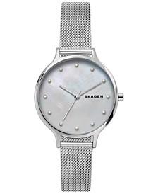 Women's Anita Stainless Steel Mesh Bracelet Watch 36mm