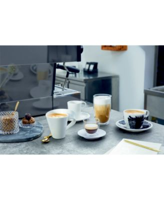 Coffee Passion Collection Latte Macciato Glass Mug & Saucer Set