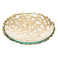 Godinger Key Design Pierced Bowl - Small
