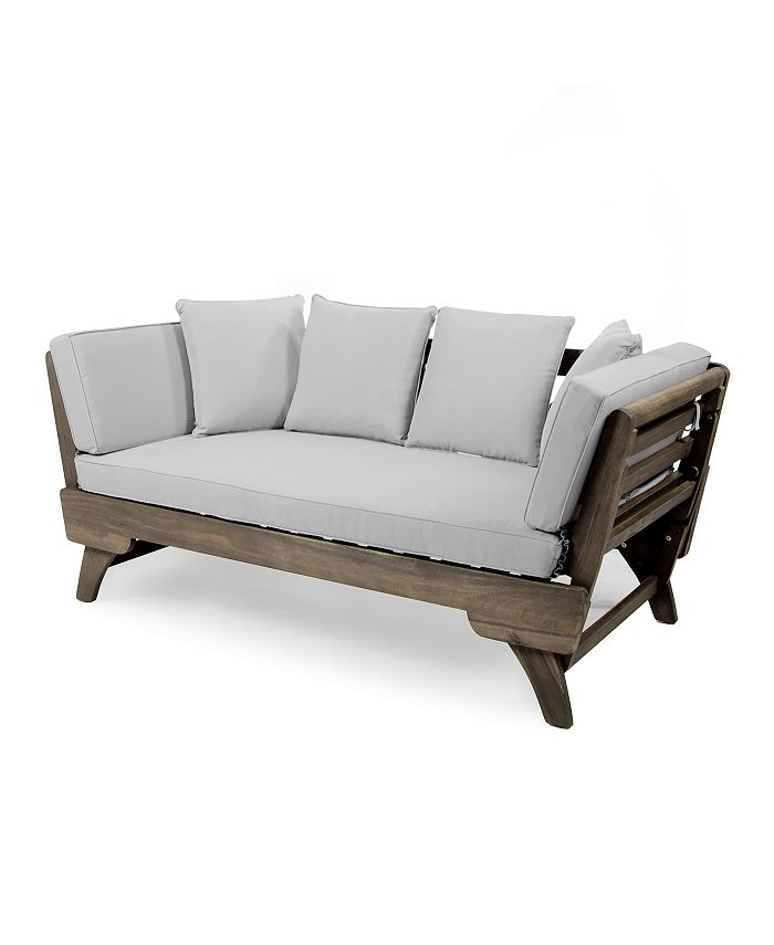 Noble House - Ottavio Outdoor Daybed, Quick Ship
