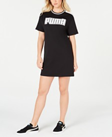 Puma Rebel Reload Logo T-Shirt Dress