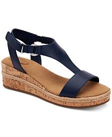 Giani Bernini Terrii Wedge Sandals, Created for Macy's