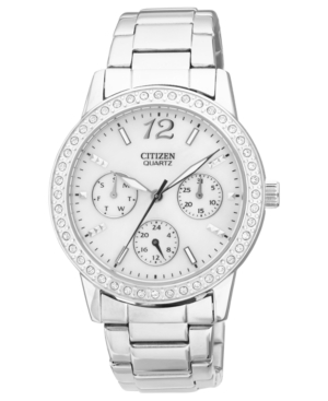 Citizen Women's Quartz Stainless Steel Bracelet Watch 35mm ED8090-53D