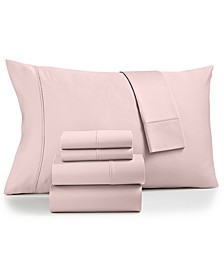Sydney 6-Pc. King Sheet Set, 825-Thread Count Egyptian Blend, Created for Macy's