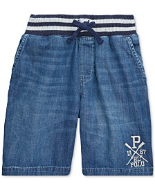 Polo Ralph Lauren Toddler Boys Denim Shorts