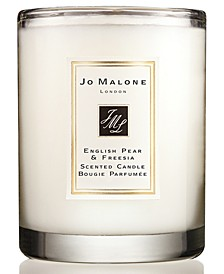 English Pear & Freesia Travel Candle, 2.1-oz.