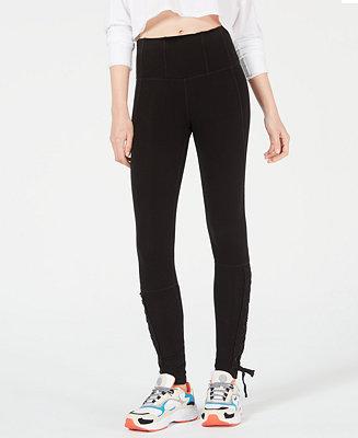 d59ea0c2be80 Free People Pixi Lace-Up Leggings   Reviews - Pants   Capris - Women -  Macy s