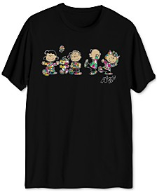 Peanuts Global Artist Collective AVAF Crew Men's Graphic T-Shirt