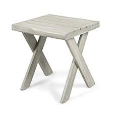 Esmerelda Outdoor Side Table, Quick Ship