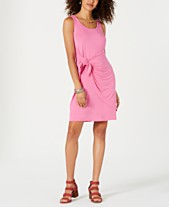 fd9ac3ea49b9 Style & Co Sleeveless Tie-Front Dress, Created for Macy's