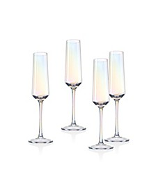 Monterey Champagne Flutes - Set of 4