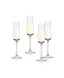 Godinger Monterey Champagne Flutes - Set of 4