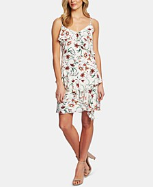 Ruffled Floral-Print Dress