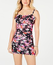 de0af142093a1 Island Escape Printed Ruffled Swimdress, Created for Macy's. Quickview. NEW!