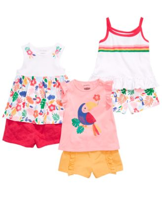 Baby Girls Floral-Print Tank Top, Created for Macy's