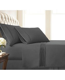 "Southshore Fine Linens Classy Pleated 21"" Extra deep, Pocket Sheet Set, California King"