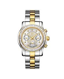 Women's Laurel Diamond (1/10 ct.t.w.) Stainless Steel Watch