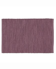 Plum Perfect Tonal Placemat Set of 6