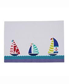 Sailboats Ebb Placemat Set of 6