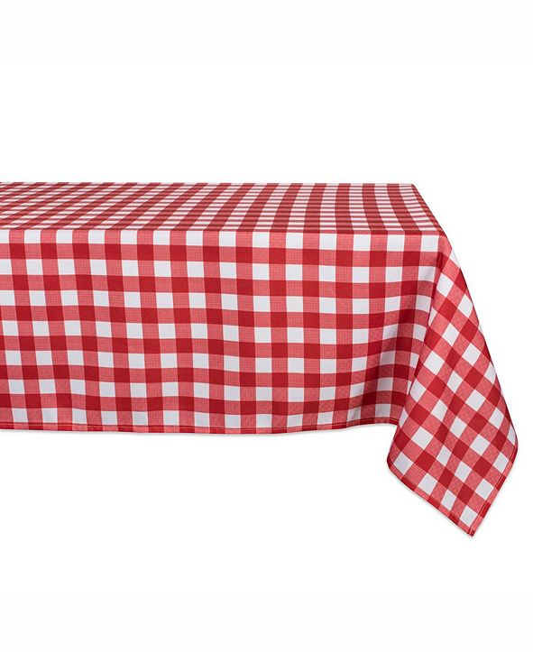 """Design Imports Outdoor Table cloth 60"""" X 84"""""""