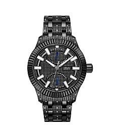 JBW Men's Special Edition Crowne Diamond (1/2 ct.t.w.) Watch