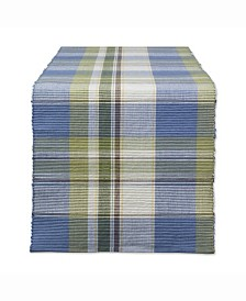 "Lake House Plaid Table Runner 13"" X 72"""