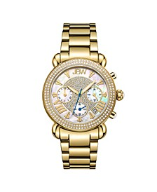 Women's Victory Diamond (3/4 ct.t.w.) 18k Gold Plated Stainless Steel Watch