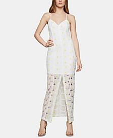 Daisy-Lace Maxi Dress