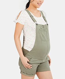 Motherhood Maternity Short Overalls