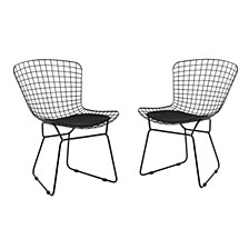 Tyson Outdoor Side Chair, Set of 2