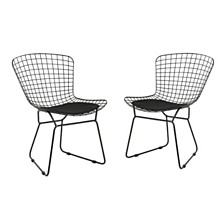 Tyson Outdoor Side Chair, Quick Ship (Set of 2)