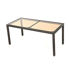 San Pico Outdoor Dining Table, Quick Ship