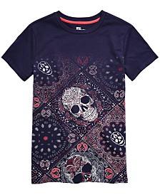 Epic Threads Big Boys Skull Bandana T-Shirt, Created for Macy's