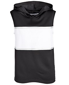 Big Boys Colorblocked Sleeveless Hoodie, Created for Macy's