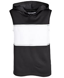 Big Boys Colorblocked Sleeveless Hoodie, Created for Macy's