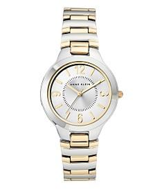 Anne Klein SunrayDial with Arabic Numerals Watch