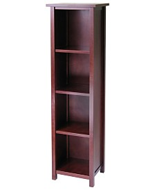Milan Storage Shelf Or Bookcase 5-Tier, Tall