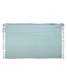 Tasselled Throw Blanket